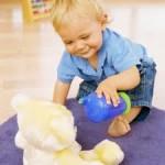 spelen baby en kleuter